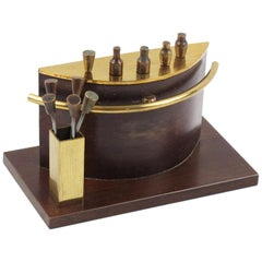 Art Deco 1940s Barware Accessory Brass Miniature Bar Cocktail Picks