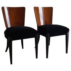 Art Deco 2 Chairs J.Halabala from 1940.