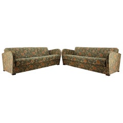 Art Deco 3-Seat Sofa Designed by Jindřich Halabala, 1930s