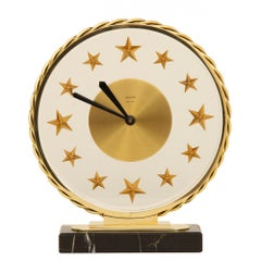 Art Deco 8 Day Clock by Bayard