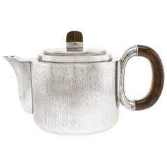 Art Deco .830 Fineness Silver Teapot Norway