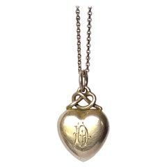 "Art Deco 9 Carat Gold 'D"" Pendant"