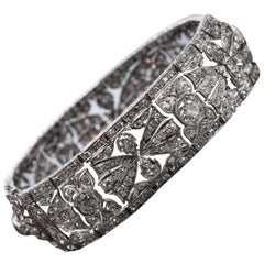 Art Deco All Diamond Bracelet
