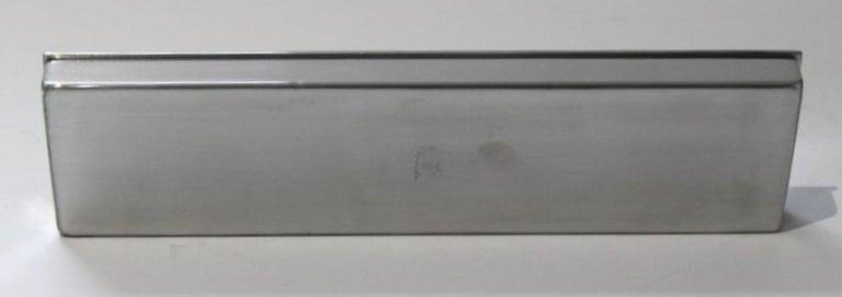 Art Deco Aluminum Box by Kensington For Sale 8