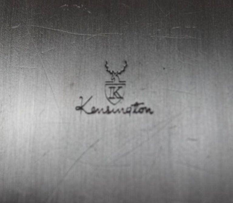 Art Deco Aluminum Box by Kensington For Sale 9