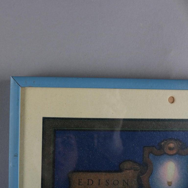 Art Deco Antique 1924 Maxfield Parrish the Venetian Lamplighter Full Calendar For Sale 1
