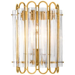 Art Deco Antique Gold Wall Lamp