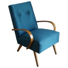 Art Deco Armchair J.Halabala from 1960