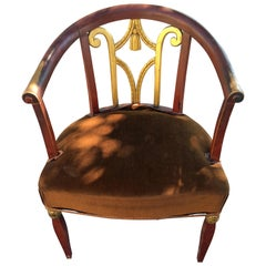 Art Deco Armchair in the Style of André Groult, circa 1925