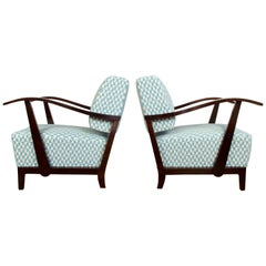 Art Deco Armchairs, Set of Two, 1920s