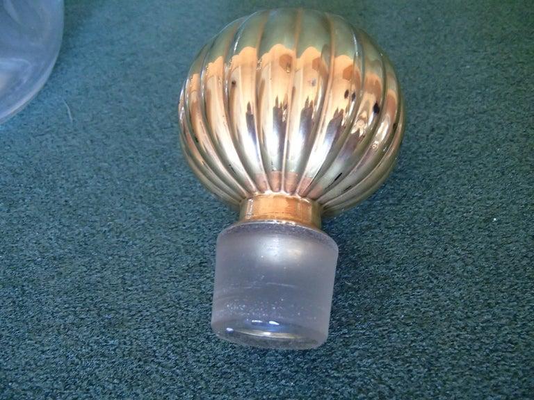 Art Deco Arpege by Lanvin Empty Perfum Bottles In Good Condition For Sale In Zurich, CH