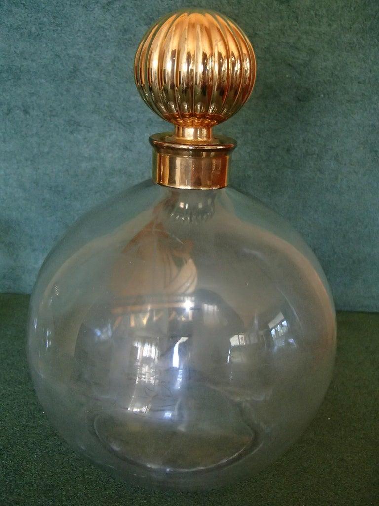 Art Deco Arpege by Lanvin Empty Perfum Bottles For Sale 2