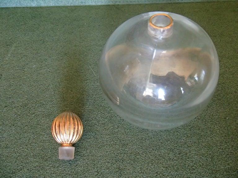 Art Deco Arpege by Lanvin Empty Perfum Bottles For Sale 3