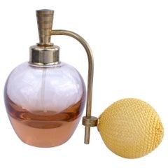 Art Deco Atomizer Perfume Bottle, c 1930's