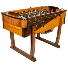 """Art Deco """"Babyfoot"""" Table Football Game"""