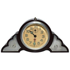 Art Deco Bakelite Odeon Clock by JAZ