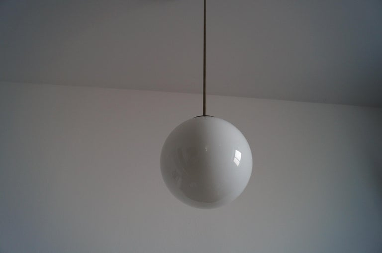 Art Deco Ball Lamp from 1940 For Sale 5