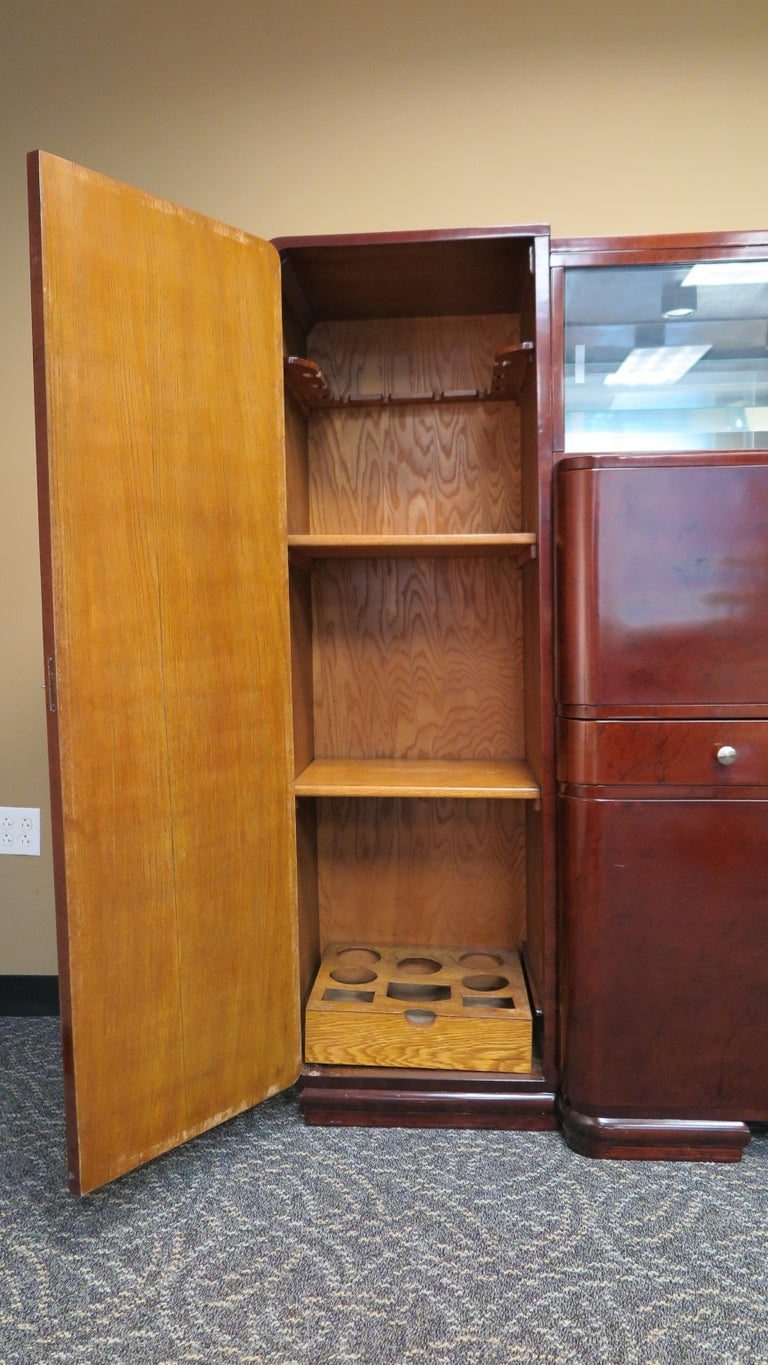 Art Deco Bar Cabinet In Good Condition For Sale In New York, NY