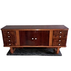 Art Deco Bar Credenza by Vittorio Dassi Italy