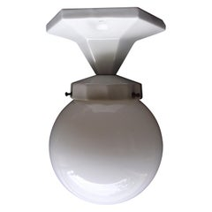 Art Deco Bathroom Porcelaine Ceiling Lamp