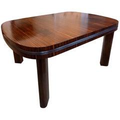 Art Deco, Bauhaus, Extendable Dining Table, Bruno Paul Design