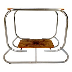 Art Deco Bauhaus Side Table, 1920-1930