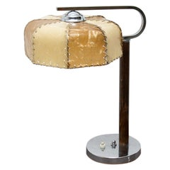Art Deco Bauhause Table Lamp, 1930s, Bohemia
