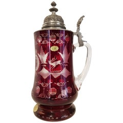 Art Deco Bavarian Cristal Mug