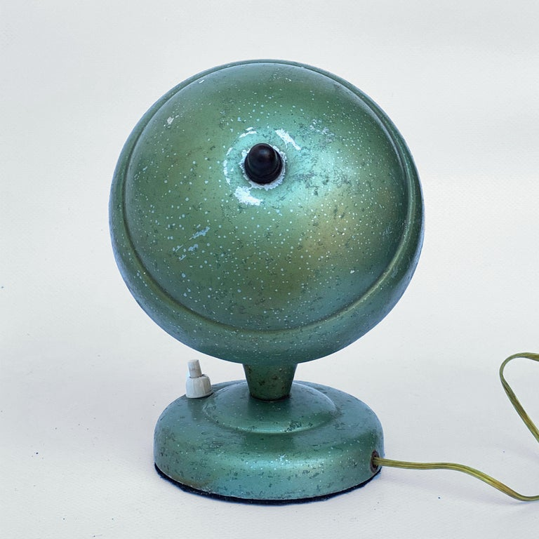 Mid-20th Century Art Deco Bedside Lamp, Attributable to Fog and Mørup 1930s, Lamp Table For Sale