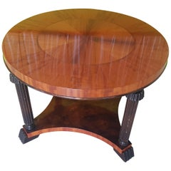 Art Deco Birch Coffee Table from Germany