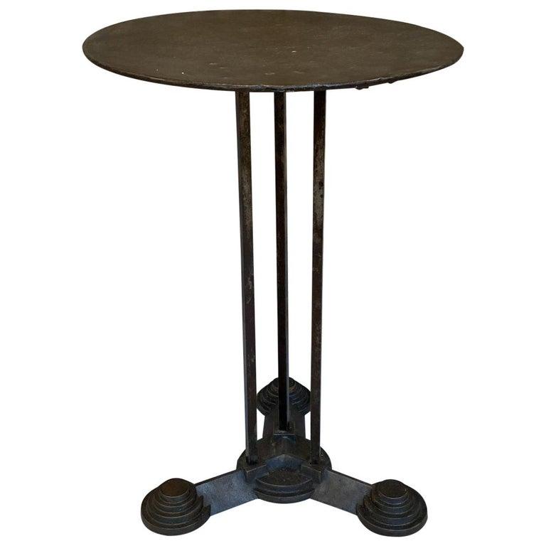 Art Deco Bistro/Café Table, France