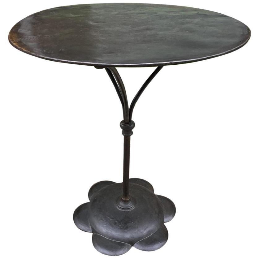 Art Deco Bistro or Café Table, France