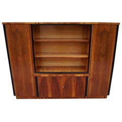 Art Deco Bookcases Walnut from 1950