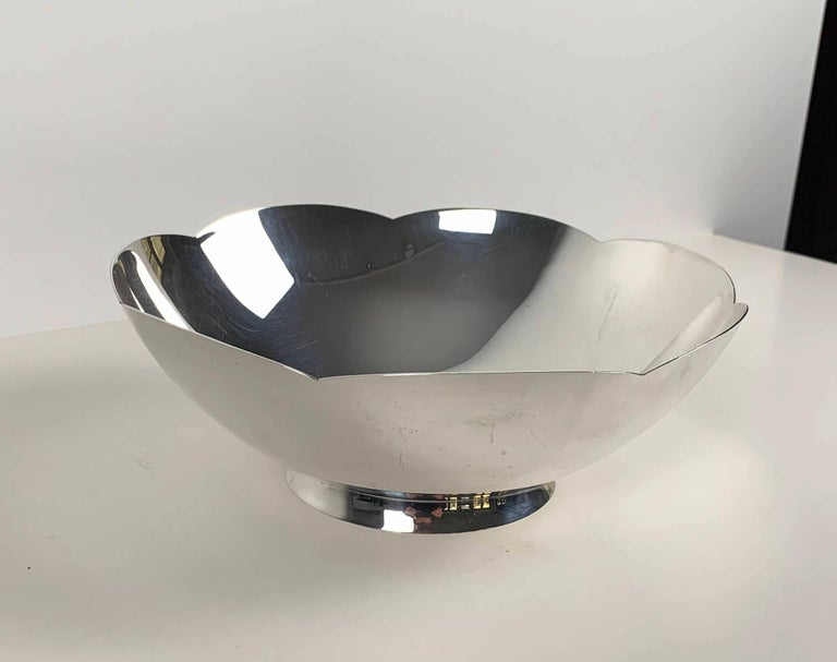 Art Deco Bowl by Tiffany & Co., New York, Sterling Silver, 1920-40s In Good Condition For Sale In Regensburg, DE