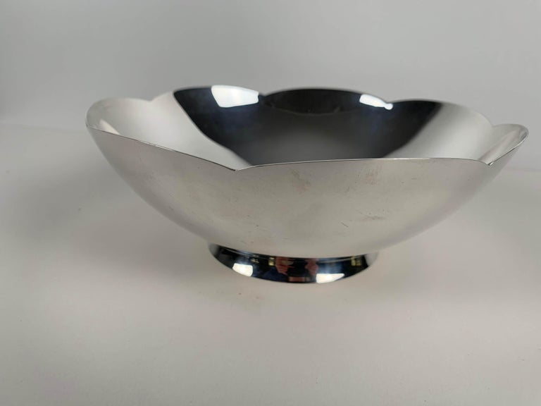 Art Deco Bowl by Tiffany & Co., New York, Sterling Silver, 1920-40s For Sale 1