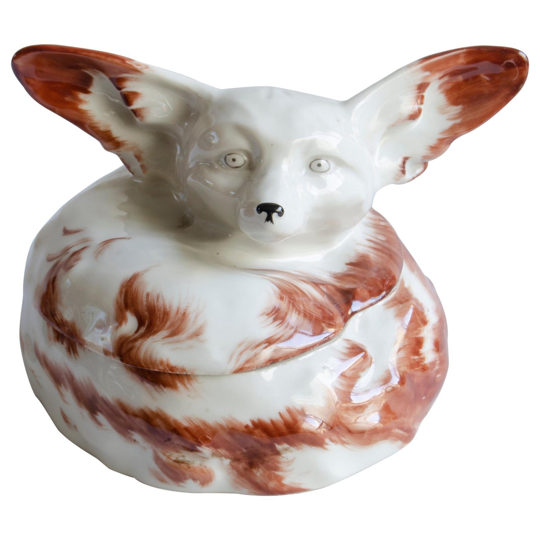 Art Deco Box 'Sandoz' Fox