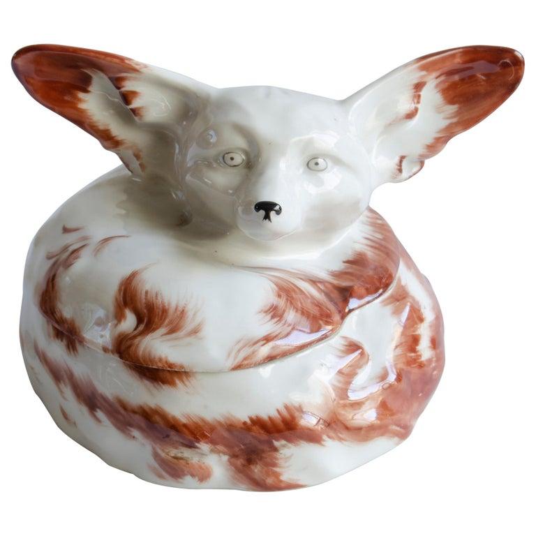 Art Deco Box 'Sandoz' Fox For Sale