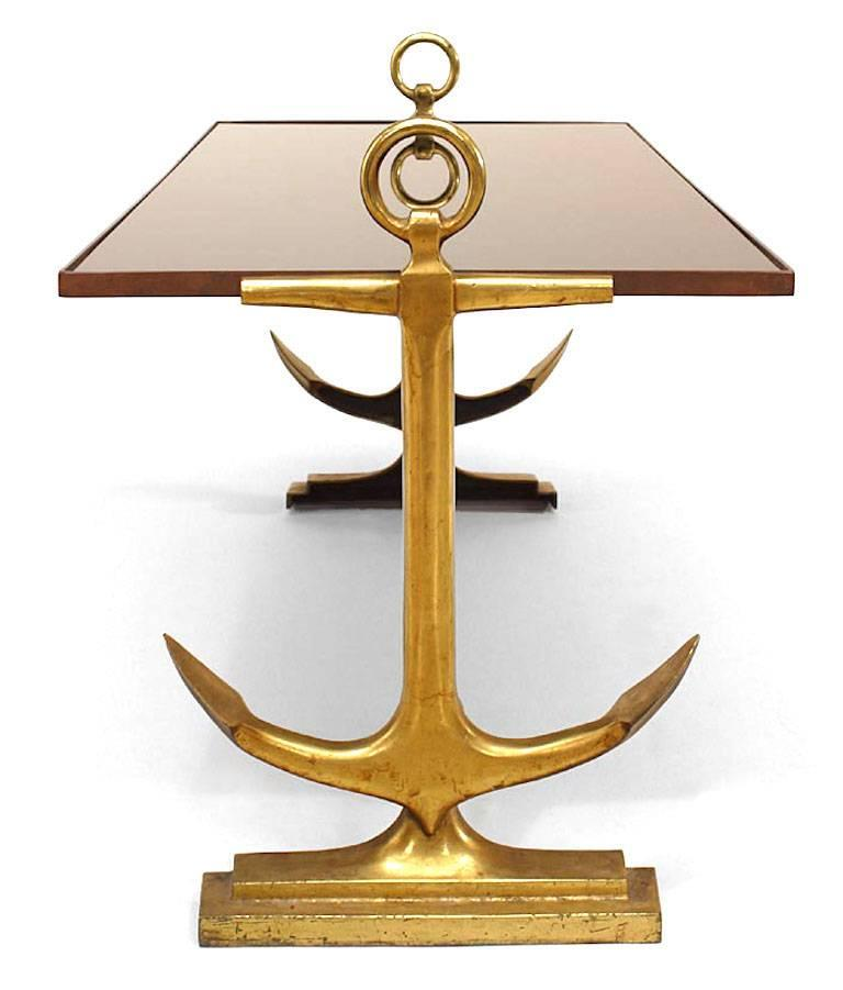 Art Deco Brass Coffee Table For Sale At 1stdibs