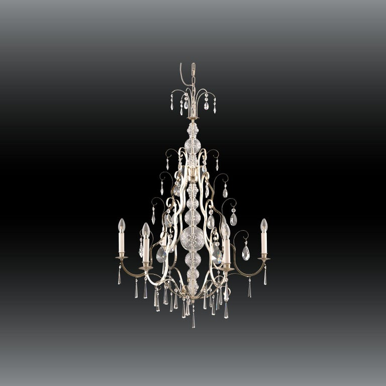 Very elegant Art Deco chandelier