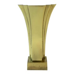 Art Deco Brass Desk or Table Lamp, circa 1970s