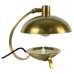Art Deco Brass Table Lamp, 1930's