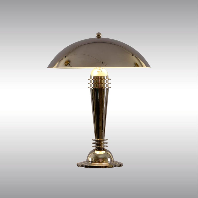 Big elegant desk lamp with two sockets All components according to the UL regulations, with an additional charge we will UL-list and label our fixtures.