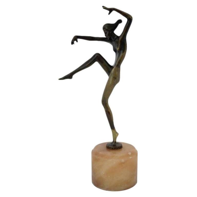 Art Deco Bronze by Stefan Dakon
