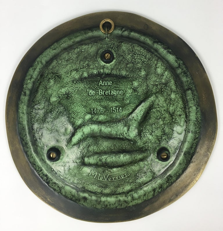 Max Le Verrier Large Art Deco Bronze Vide Poche or Decorative Dish In Good Condition For Sale In Arles, FR