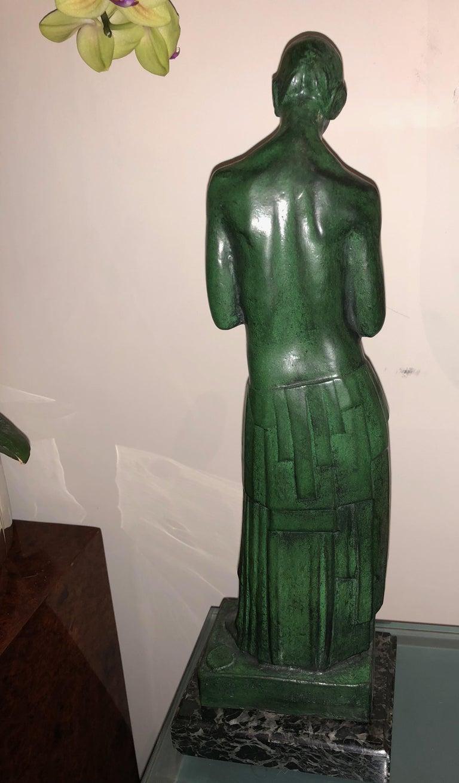 Art Deco Bronze Figure Antoine Vriens Classic 1928 1 of 6 Total Art Deco For Sale 3