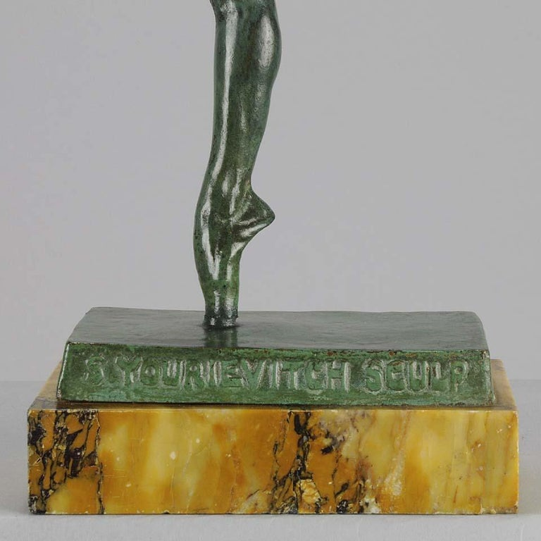 Art Deco Bronze Figure