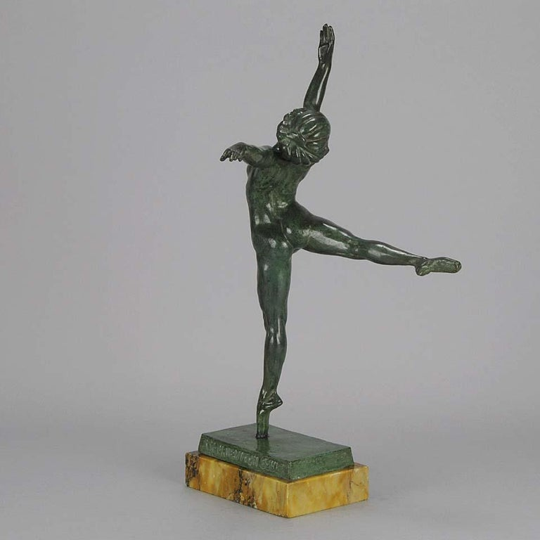 Early 20th Century Art Deco Bronze Figure