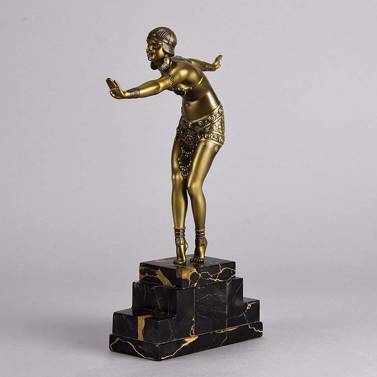 Cast Art Deco Bronze