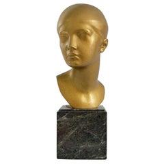 Art Deco Bronze Sculpture Hanz Lutkens