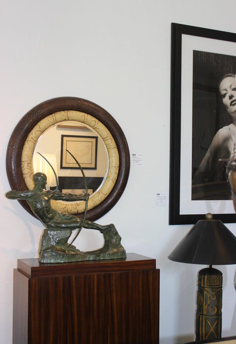 Art Deco Bronze Sculpture of an Archer by Victor Demanet  For Sale 12